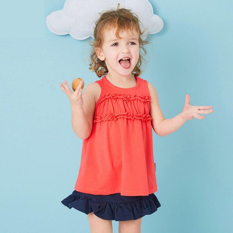 2017 de La Moda Niñas Bebés Niños Top Camisas Con Volados Tops Verde Rojo de Navidad ropa para Chilren Niños edad 2 3 4 5 6 T Años de edad