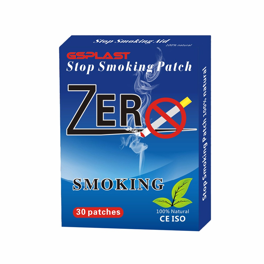30pcs/Box Quit Smoking Patch 100% Natural Herb No Side Effects Stop Smoking Patch Anti-smoke Patch Health Care Hot Selling