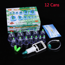 12/24 Cans Cupping Set  Medical Vacuum Cupping Suction Therapy Device Body Massager Set Chinese Medical