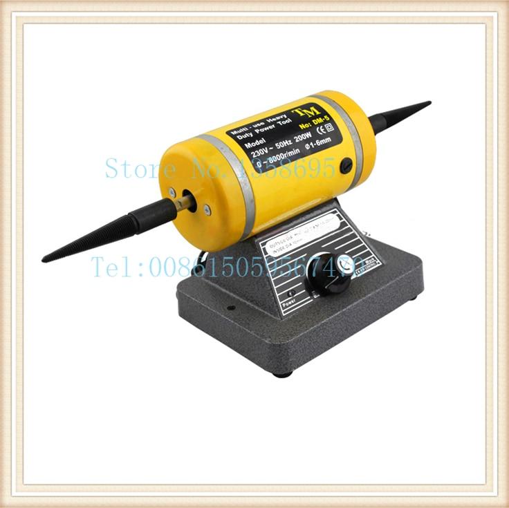 Jewelry polishing machine gold Polishing Motor dental rotary motor TM engraving power tool cloth wheel grinding motor