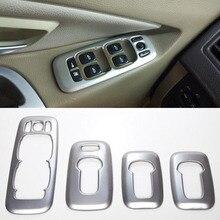 Per Volvo XC90 2002-2014 Car Interior Porta Bracciolo Alzacristalli Interruttore Bottoni Copertura Trim Decorazione Adesivi per Auto Accessori