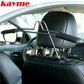 Kayme Assento Encosto de Cabeça Cabide de Aço Inoxidável Cabide de Carro Assento de Carro de Volta Organizador Roupas Casacos Ternos Titular