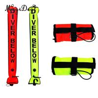 MagiDeal Professional High Visibility Scuba Diving Inflatable Safety Sausage Signal Surface Marker Buoy (SMB) Tube