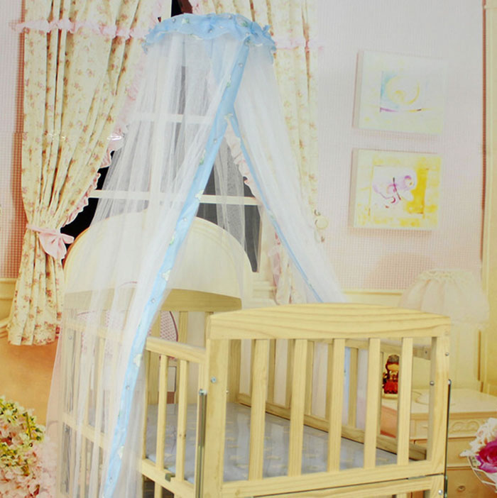 Summer Baby Bed Curtain Mosquito Mesh Dome Net For