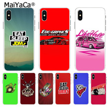 MaiYaCa Eat sleap jdm drift Luxury High-end phone Accessorie