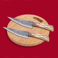 Free Shipping Liang Da Stainless Steel Kitchen Fillet Knife Fish Boning Knife Eviscerating Meat Knife Shaving Segmentation Knive