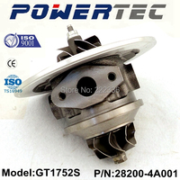 GT1752S turbo 282004A001 turbo core 710060-5001S turbo chra for Hyundai H-1 CRDI
