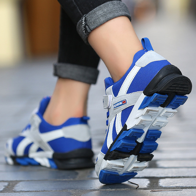 2019 New Children shoes boys sneakers girls sport shoes size 26-39 child leisure trainers casual breathable kids running shoes