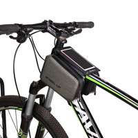 Wheel Up 6 Cycling Bike Bicycle Bags Panniers Waterproof Frame Front Tube Bag For Cell Phone