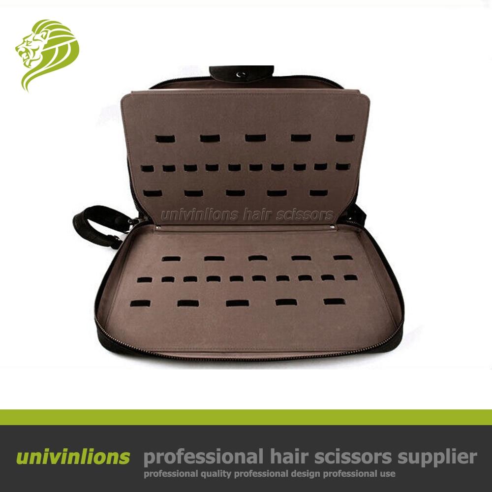 Univinlions 40/60 個理髪理髪バッグ革ホルダーバリカンケースシザーケース理髪シザーポーチヘアはさみホルスター  グループ上の 美容 & 健康 からの ヘア ハサミ の中 1
