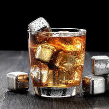 304 Steel Whiskey Stones Stainless Ice Cube Wine Cooler Beer Chiller Wine Vino Champagne Beverage Brandy Cooler Gift for Men цена и фото