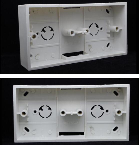 Universal 86 Surface Mounted Junction Box Pvc    Switch Box