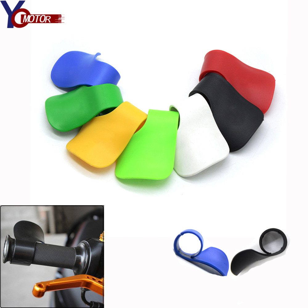 FOR YAMAHA YZF R1 YZF R1 YZF R6 YZF600R thundercat <font><b>KTM</b></font> <font><b>950</b></font> <font><b>SM</b></font> 990 SupeRDuke Motorcycle Booster Handle Clip grips Throttle Clamp image