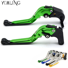 Motorcycle Handlebar CNC Clutch Brake Levers for Kawasaki ZX12R ZX-12R 2000 2001 2002 2003 2004 2005 Brake Lever Clutch Handle стоимость
