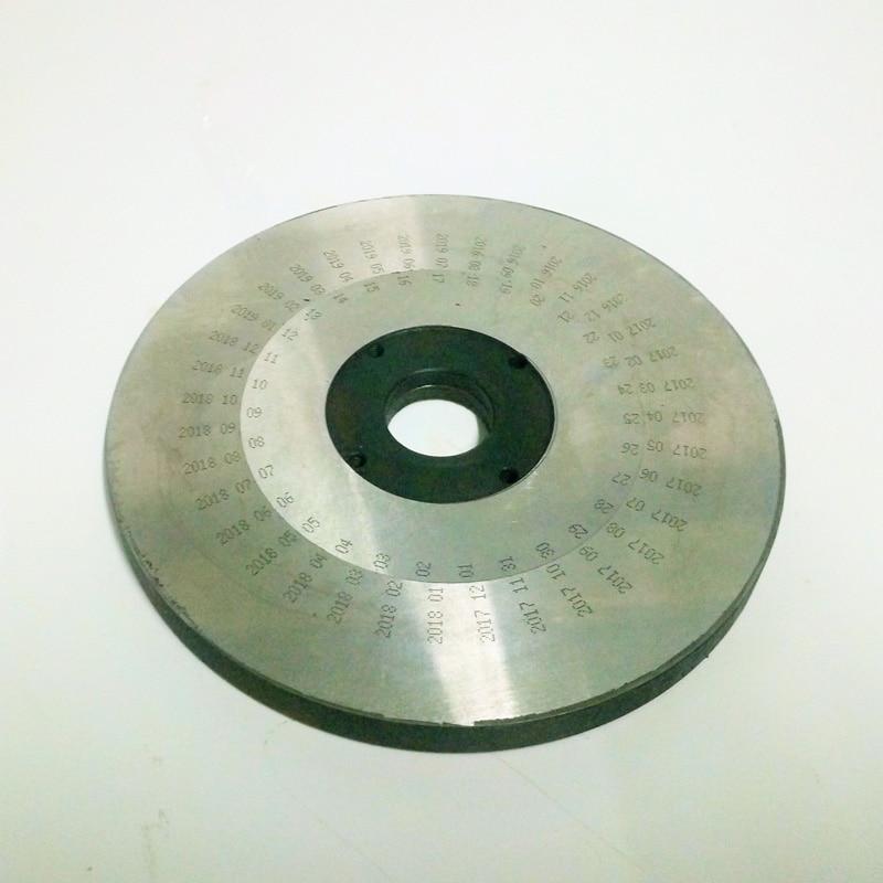 Loghi macchina da stampa tampone elettrico stampante data di scadenza - Set di attrezzi - Fotografia 5