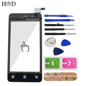 """Image 3 - 4.0"""" Mobile Touch Screen For Fly FS408 Stratus 8 Touch Screen Glass Digitizer Panel Lens Sensor Glass Tools Adhesive Wipes"""