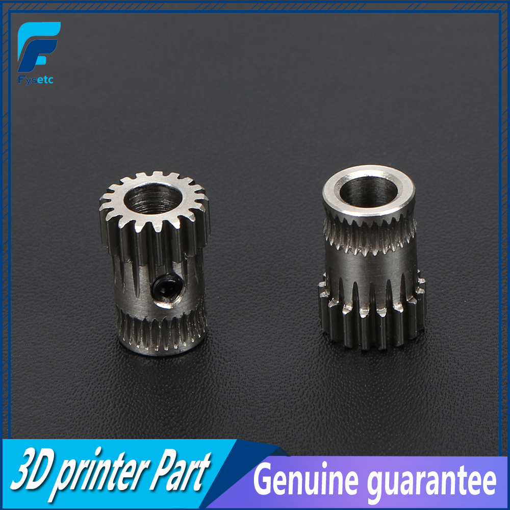 2Sets Cloned Btech Dual Gears DIY Prusa i3 Steel Pulleys Kit 3D Printer Gears Extrusion Wheel For Prusa i3 MK2/MK3 3D Printer ноутбук lenovo thinkpad x280 20kf001rrt
