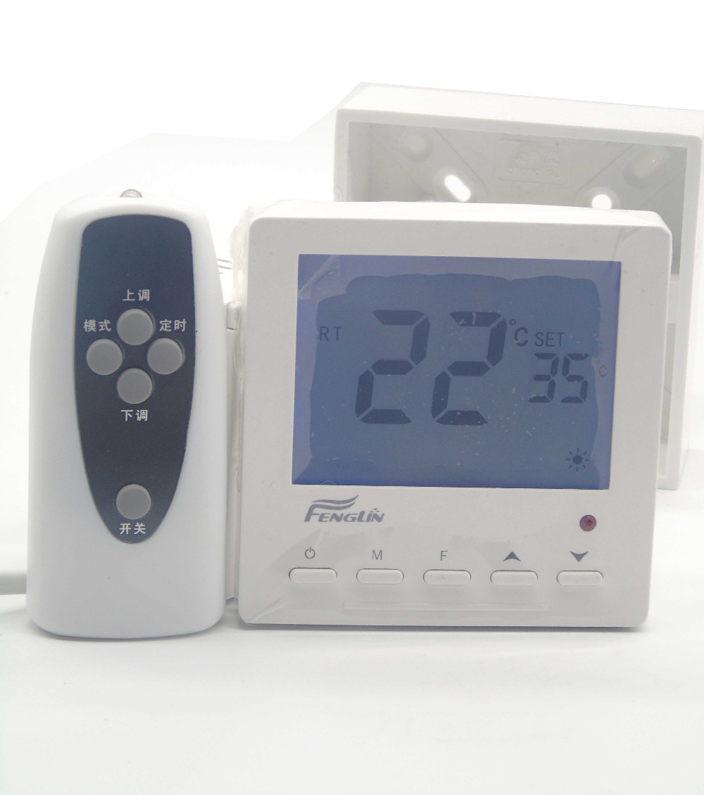 Gas Boiler Remote Control Floor Heating Thermostat With