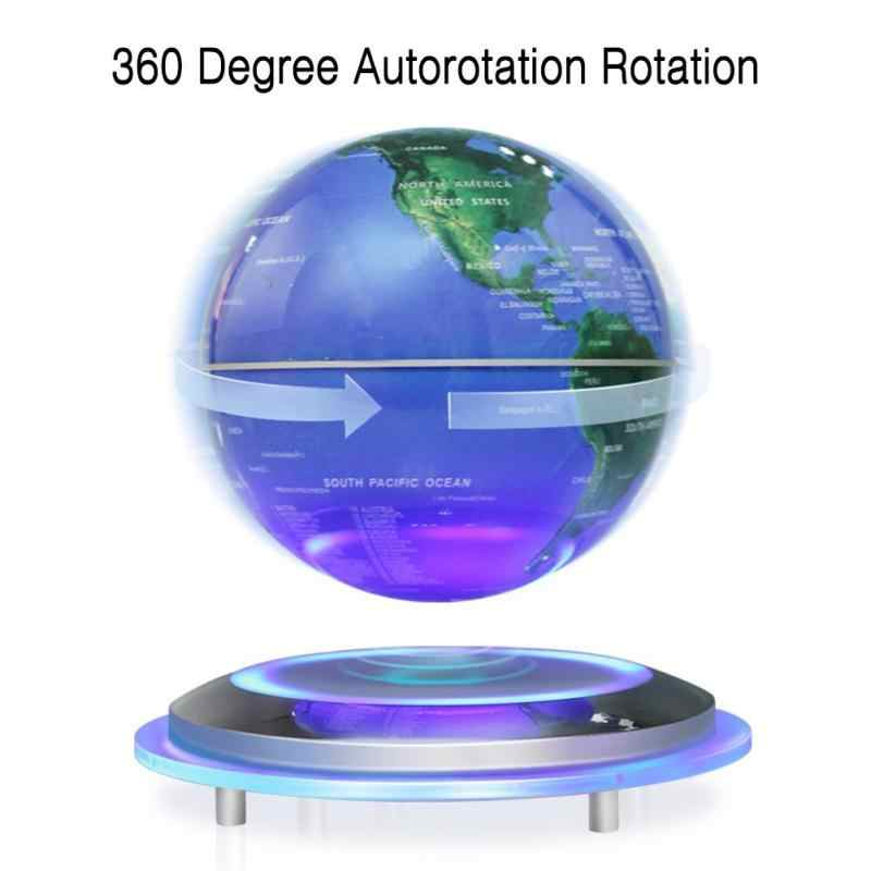 Magnetic Levitation Floating Globe 6 Self-Rotating Ball Anti Gravity LED  World Map Earth for 7231165dbb1b