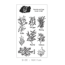 New Beautiful Plants Rubber Clear Stamps Silicone Seals for DIY Scrapbooking Card Making Diary Book Paper Maker Decor Stencil