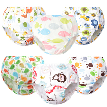 6Pcs/Lot Newborn Baby Underwear Comfortable Pant Boy Girl Underpants Briefs  Shorts Panties Toddler Infant Clothing