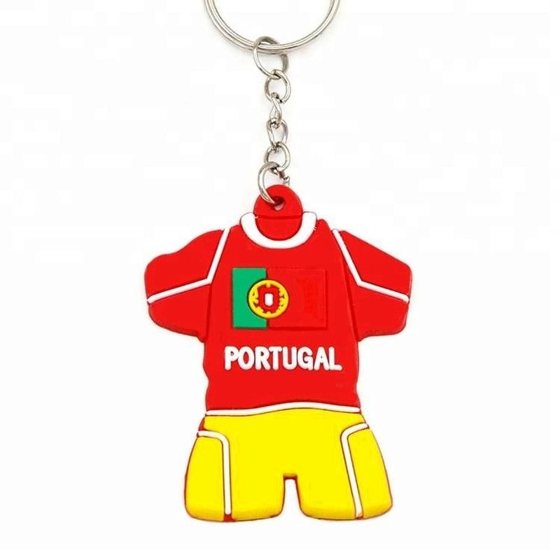 Engraved FOOTBALL footballer Design keyring BOXED Personalised Free Keyring