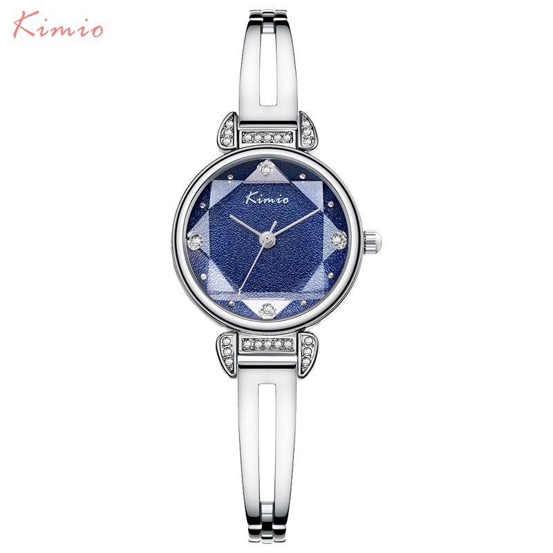 Simple Women Watches Ladies Quartz Watch KIMIO Luxury Brand Women's Bracelet Watch Female Steel Wristwatches Relogio Feminino