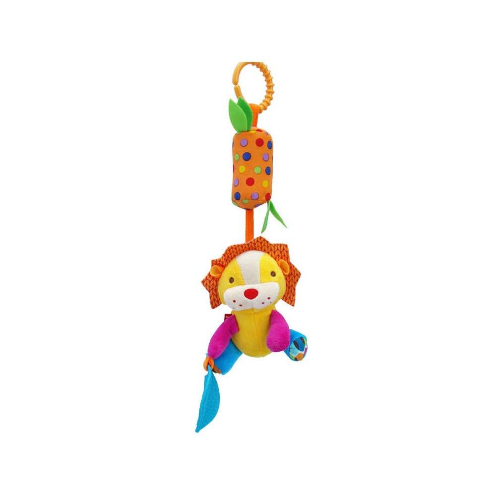 Nieuwe Ontwerp Multi Funcation Baby Knuffels Pop Rammelaar Bel Zuigeling Reborn Baby Crib Wandelwagen Opknoping Speelgoed