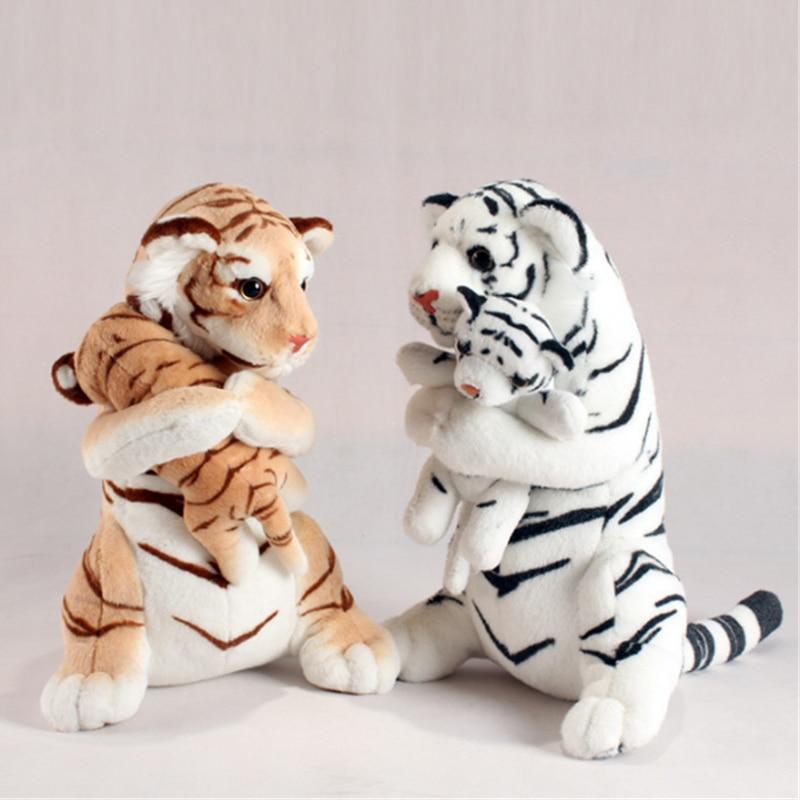 Giant Simulation Tiger Plush Toys Big Soft Animal Stuffed Doll Kid Birthday Gift