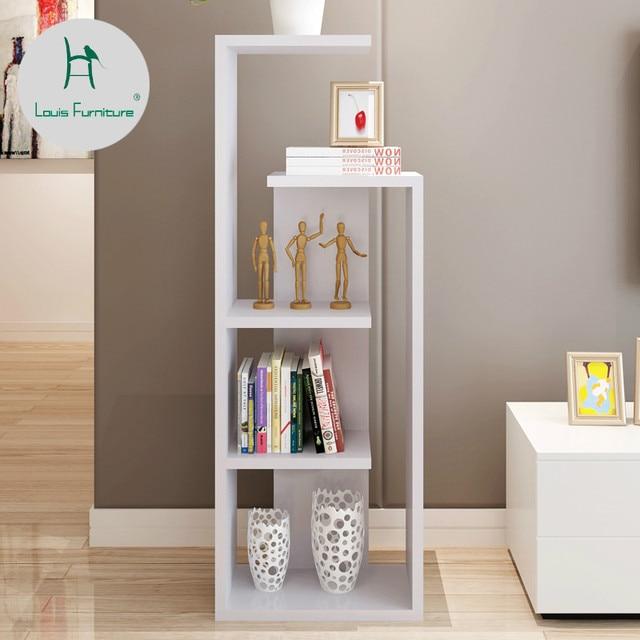Louis Fashion Bookcases Minimalist Modern Bedroom Living Room Creative Floor Multi Y