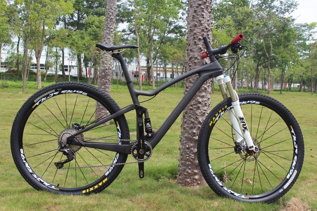Enduro bikes 29″ Complete Carbon mtb Bicycle Shi-mano XT 29er full suspension Carbon Mountain Bike