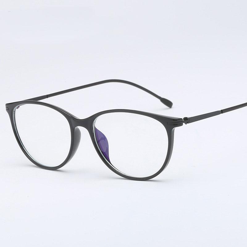 HOTOCHKI Antiblue Eyewear Frame Men Fashion Optical Myopia Prescription Clear Computer Eyeglasses Frame Frame Spectacles