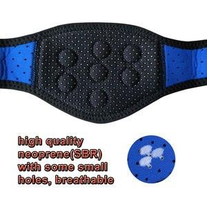 Image 4 - טורמלין Neoprene צוואר תמיכת סד מגנטי טיפול גלישה להגן להקת טורמלין חימום רפידות צוואר כאב