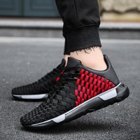 High Top Men Tennis Shoes for Outdoor Breathable Sport Tenis Sneakers Air Mesh Men Trainers Zapatillas Hombre Deportiva Cheap