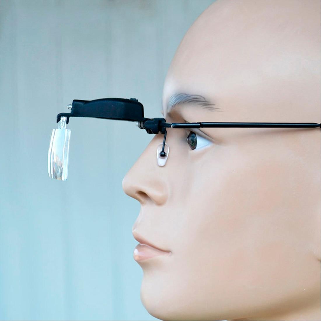 Aletler'ten Büyüteçler'de Büyüteç kafa büyüteç büyüteç göz onarım büyüteç 1.5/2.5/3.5 gözlük büyüteç optik Lens title=