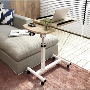 Image 3 - Actionclub Lifting Mobile Notebook Table Computer Desk Bedside Sofa Bed Learning Desk Folding Laptop Table Adjustable Table