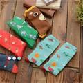 free shipping Damask sweet cartoon socks warm socks Gaotong wild bottoming socks Japanese Sen female line 2015 new winter Sock S