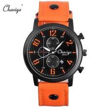 Men Watch Sport Men Fashion Quartz Wrist Watch Waterproof 30M CHAXIGO New 2016 Best Selling Relogio Male Clock Relojes Feminino