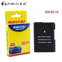 1pc EN EL14a ENEL14 EN EL14 Battery For Nikon D5600 P7700 P7100 D3400 D5500 D5300 D5200