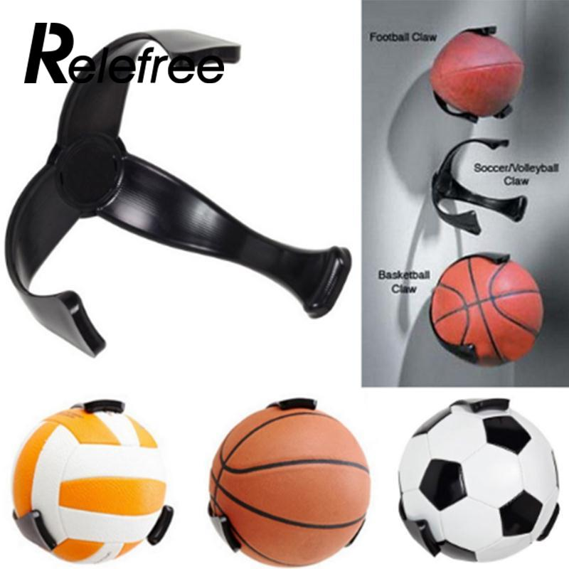 Autographs-original Wall Mount Ball Storage Rack For Football Volleyball Basketball Exercise Ball Terrific Value