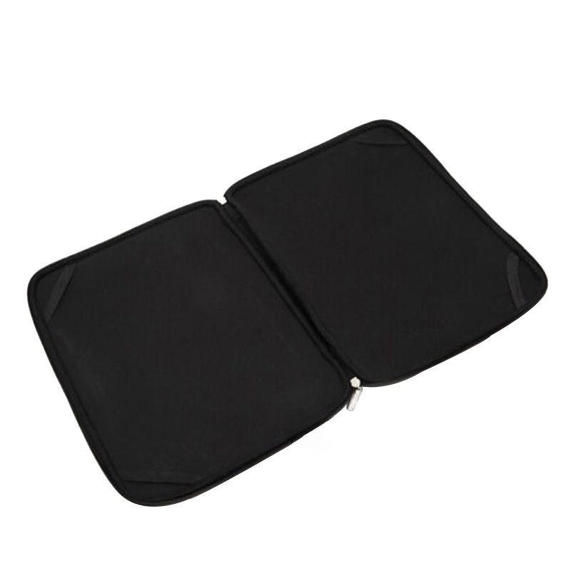 Bərk Qara Laptop Notebook Qollu Çanta Su keçirməyən Neopren - Noutbuklar üçün aksesuarlar - Fotoqrafiya 2