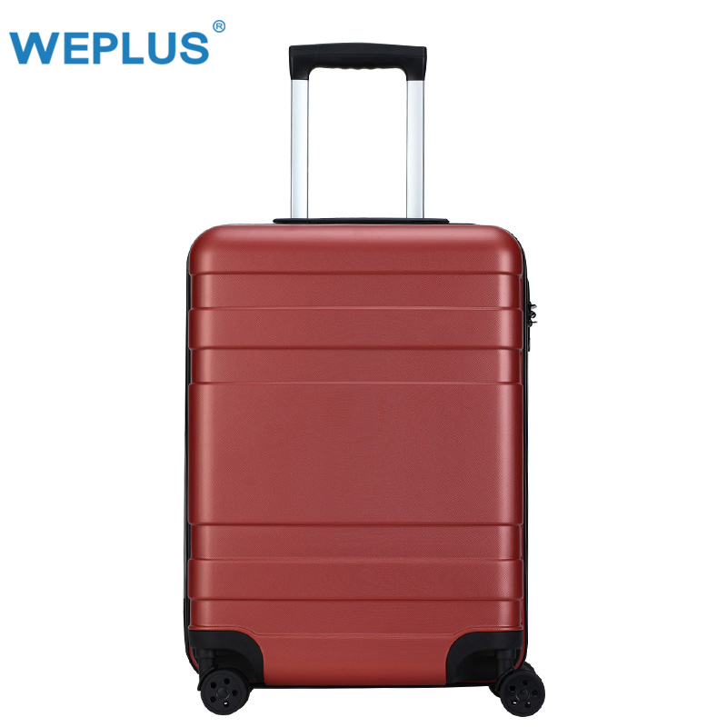 Brand 20 inch 24 inch Rolling Luggage Suitcase Boarding Case travel luggage Case Spinner Cases Trolley Suitcase wheeled Case red