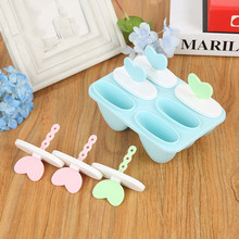 1PC Kitchen Frozen Ice Cube Molds Popsicle Maker DIY Cream Tools Cooking For Making Random Color PF 011