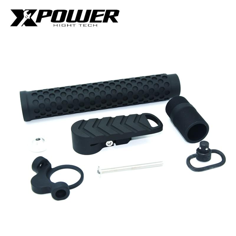 XPOWER BA Stock Set AEG Airsoft M4 accessoires de Paintball tactique pistolet à Air