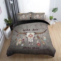 Medusa dreamcatcher featured design bedding set king queen full twin size cool duvet cover set