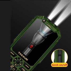 "Image 5 - Wcdma 3g 휴대 전화 3.0 ""터치 스크린 전원 은행 와이파이 푸시 버튼 듀얼 sim 듀얼 손전등 시끄러운 스피커 핸드폰 러시아어 키"