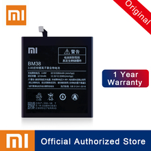Xiao Mi 100% Original Replacement Battery BM38 For Xiaomi 4S M4s Real Capacity Rechargeable Phone Batteria Akku 3260mAh