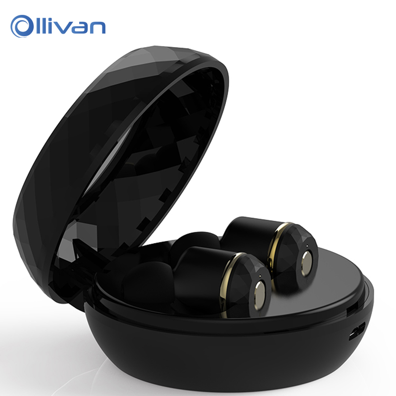 ollivan i7s dual ear tws bluetooth earphone earbuds mini wireless earphone for iphone 8 for. Black Bedroom Furniture Sets. Home Design Ideas