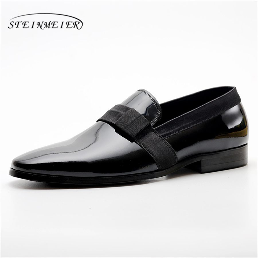 100% Genuine cow leather brogue mens casual flats shoes vintage handmade sneaker oxford shoes for men spring black vintage casual handmade 100