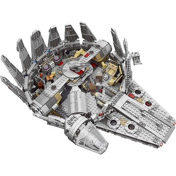 Force Awakens Star Set Wars Series Star Destroyer Millennium Falcon Building Blocks Model Educational Toys For Children